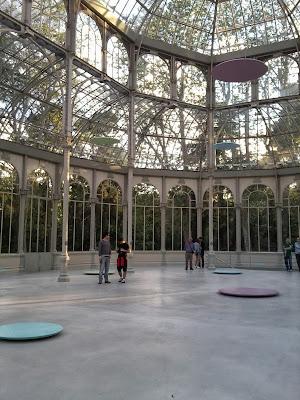 Exposiciones en Madrid, Parque del Retiro, Palacio de Cristal, Blog de Arte, Victim of art, Voa Gallery, Jiri Lovanda, Mitsuo Miura, Roman Ondak