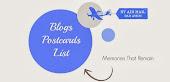 Lista blogów o pocztówkach /Blogs Postcards List