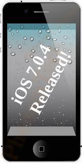 ios 7.0.4 changelog ipad iphone ipod