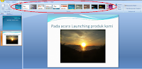 Background Preview Data lembar Powerpoint