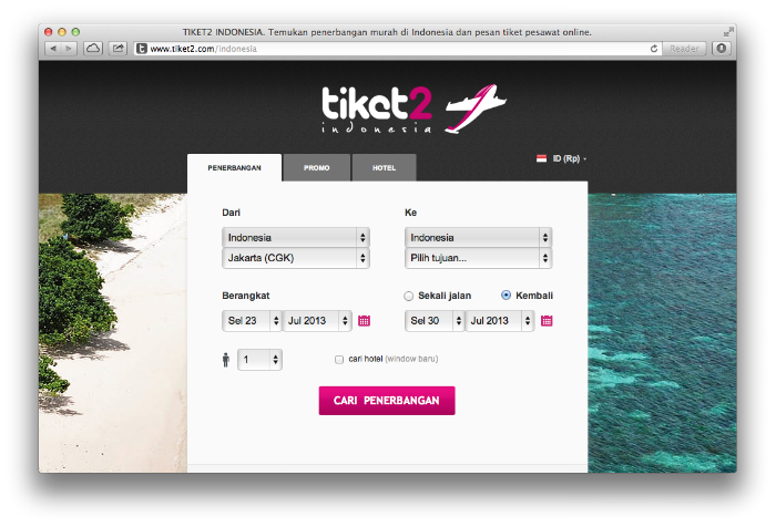 tiket2 Best Travel Startup in Indonesia