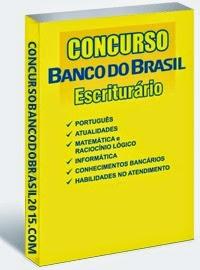 apostila escriturário banco do brasil 2015 Grátis