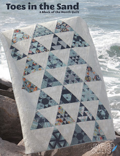 ToesintheSand Pattern Cover Web Jaybird Quilts Block Giveaway