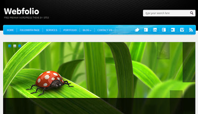 Webfolio Wordpress Theme