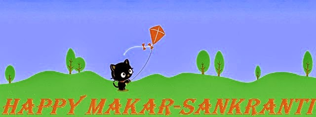 Happy Makar sankarati Kites Hd FB Cover Images 2015