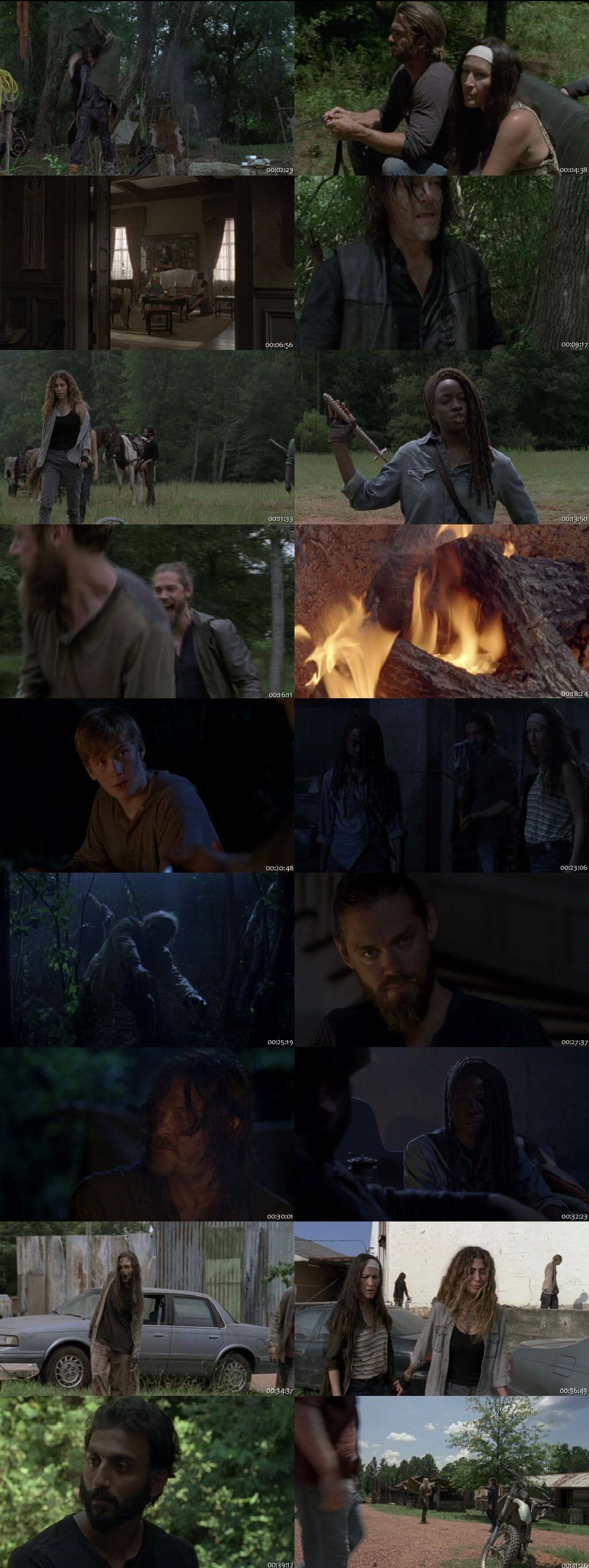 Screenshots Of English Show The Walking Dead Season 09 Episode 07 2018 WEB-DL 720P 300MB