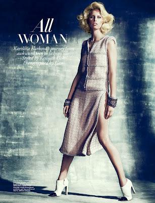 Karolina Kurkova HQ Pictures Harper's Bazaar Malaysia Magazine Photoshoot February 2014