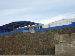 Una de las bonitas casas que hay en Tortugas.