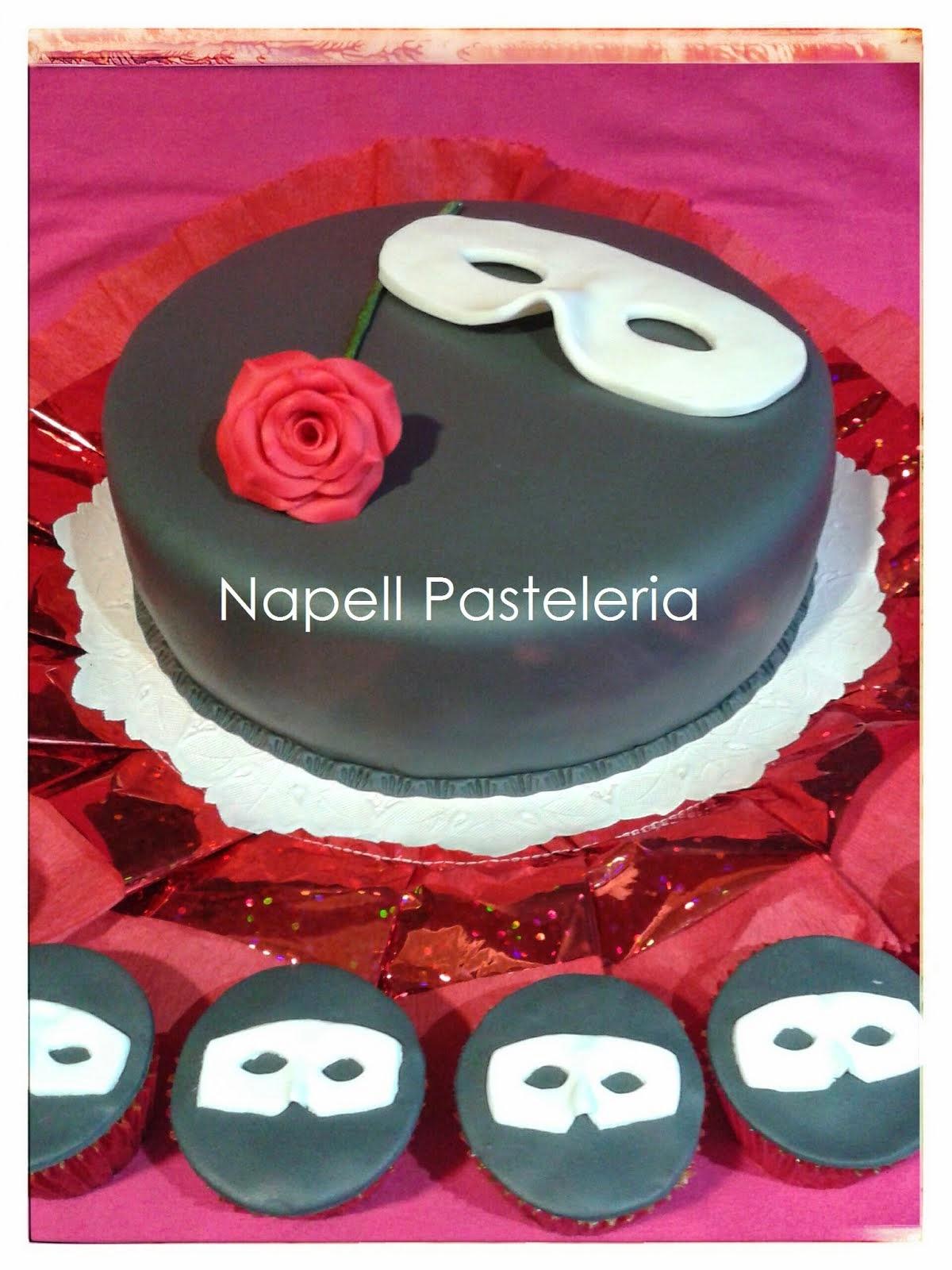 Torta El Fantasma de la Opera