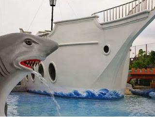Kapal Noah Ship ruang pertemuan