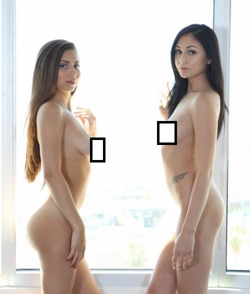 Nina North & Ariana Marie - Lesbian Oil Orgy (TeenBFF)