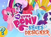 My Little Pony diseño de zapatos juego