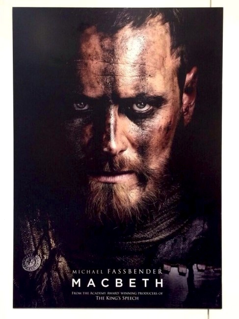 Macbeth Movie Film 2015 - Michael Fassbender, Marion Cotillard