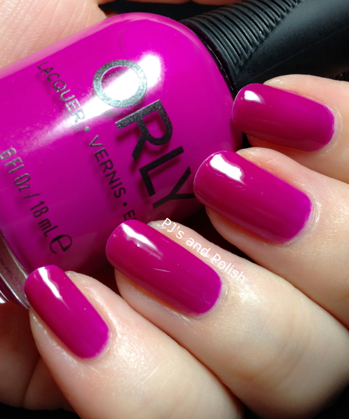 Swatch and Review Orly Purple Crush Jelly Crelly Creme HK Girl
