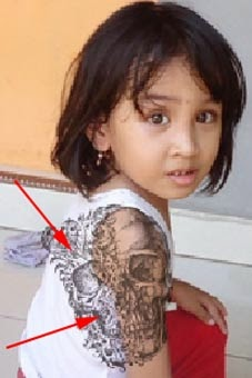 Cara membuat tattoo dengan photoshop