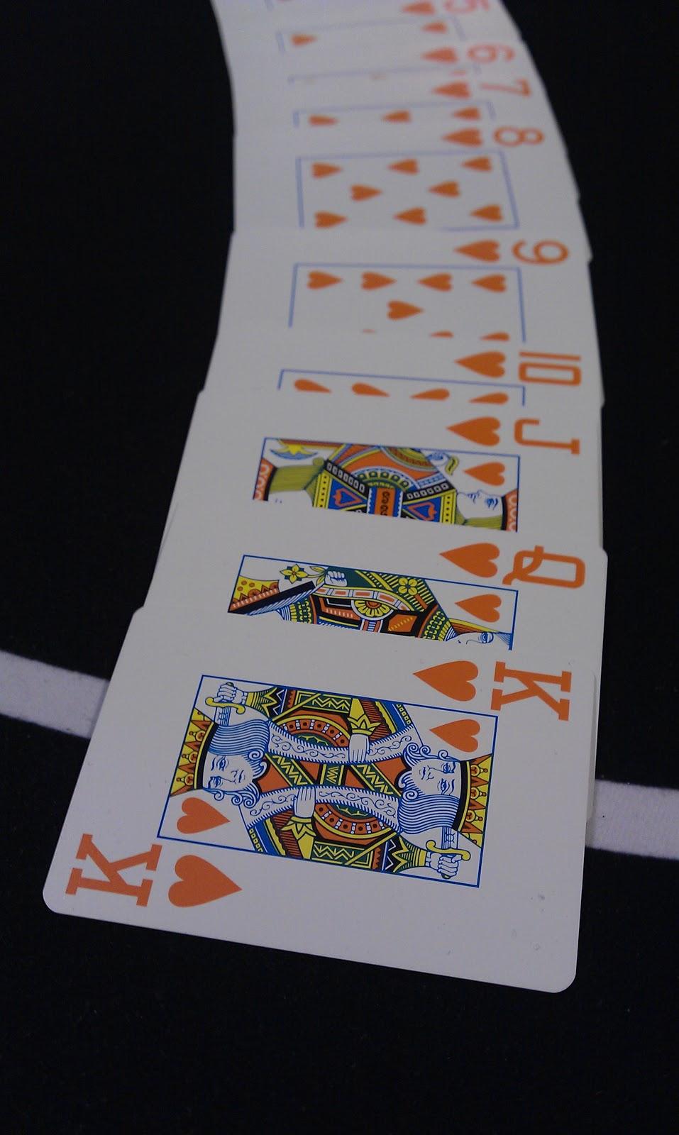 Eines von zahlreichen Poker-Kartendecks, die beim GPD Charity Event zum EInsatz kamen. Foto: Nico Lindner