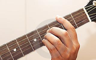posisi jari kunci b