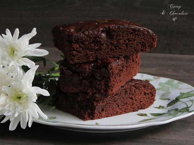 Bizcocho de chocolate - Chocolate cake