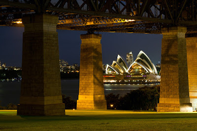 A photograph of the Opera House in Sydney, Australia