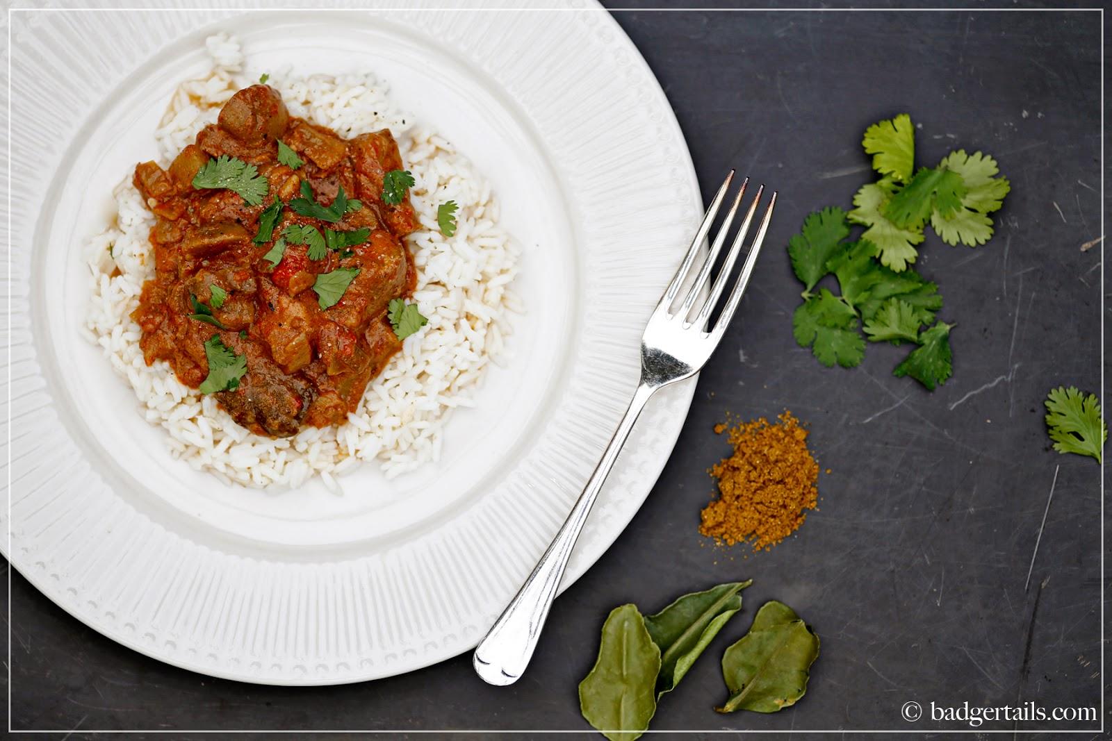 garam masala chicken curry