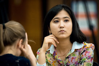 Echecs ronde 6 : Nafisa Muminova bat la Russe Tatiana Kosintseva - Photo Nikolay Bochkarev