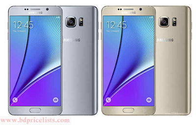 Samsung Galaxy Note 5 Specification, Reviews And Price In Bangladesh