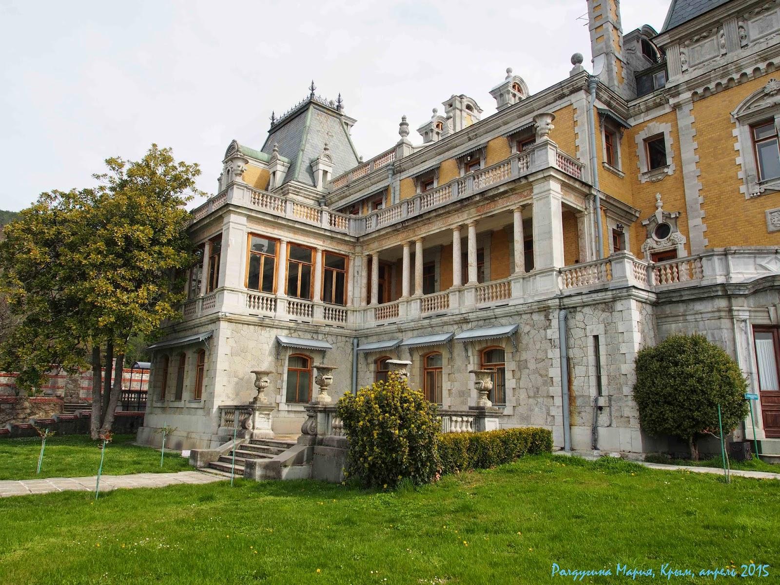 Крым массандровский дворец 2015