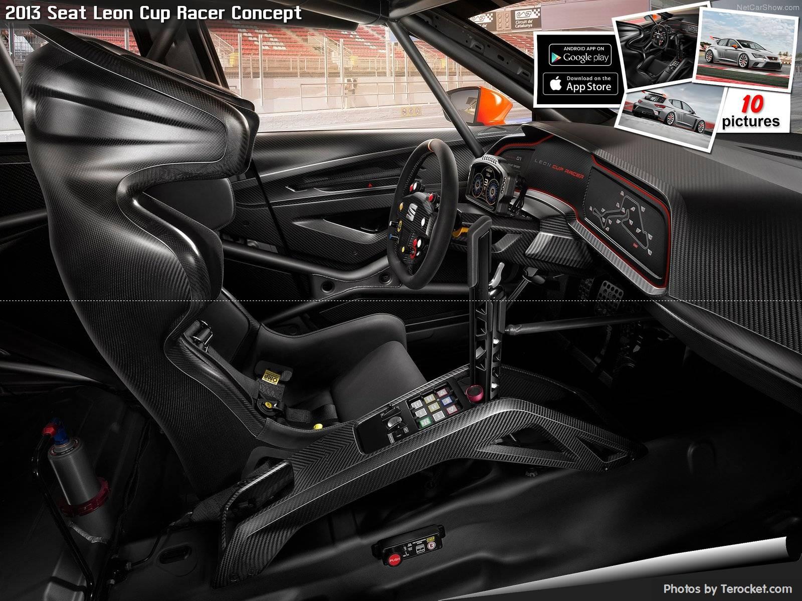Hình ảnh xe ô tô Seat Leon Cup Racer Concept 2013 & nội ngoại thất