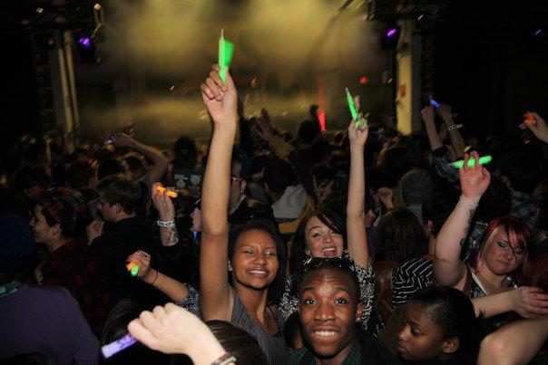 rave theme party