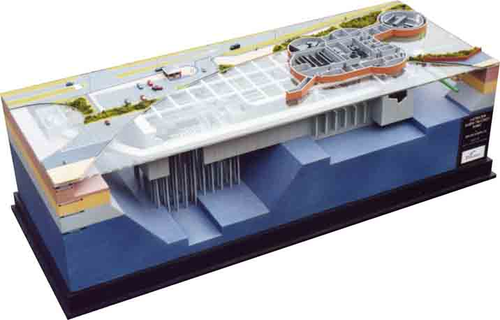 architectural engineering models. Used As A Visual Aid For Layout And Construction Also Public Relations Purposes. Architectural Engineering Models