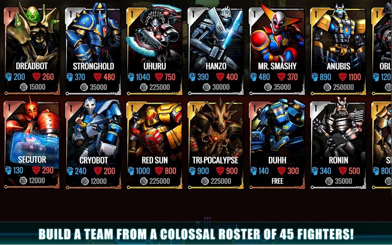 Игра на андроид ultimate robot fighting