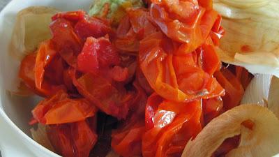 roma tomato skins
