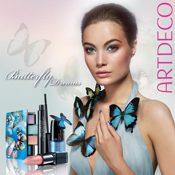 flight of spring artdeco butterfly dreams s s 2013 makeup. Black Bedroom Furniture Sets. Home Design Ideas