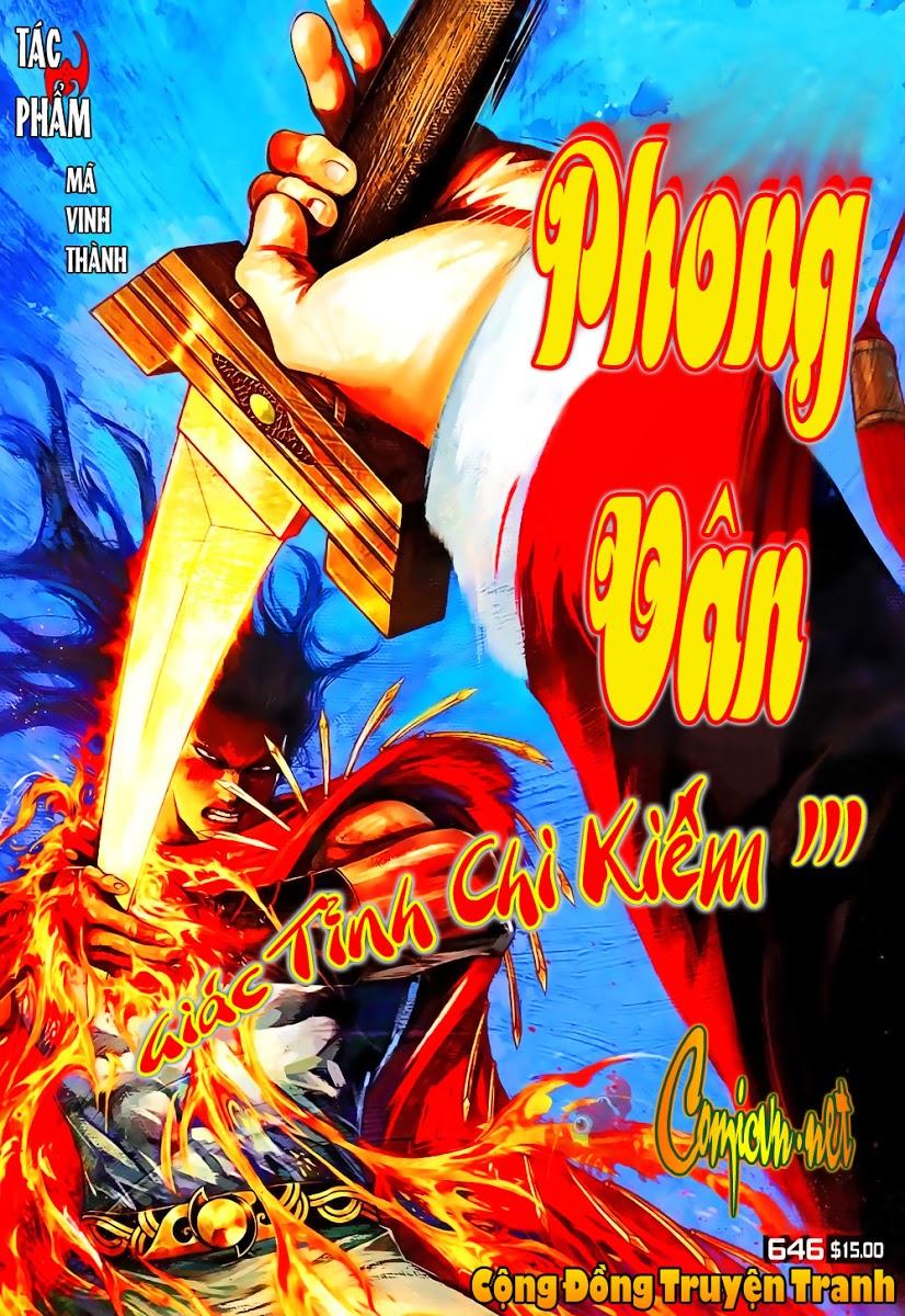 Phong Vân chap 646 Trang 1 - Mangak.info