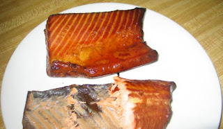 Smoked Wild Caught Salmon purchased frm www.socalmeats.com