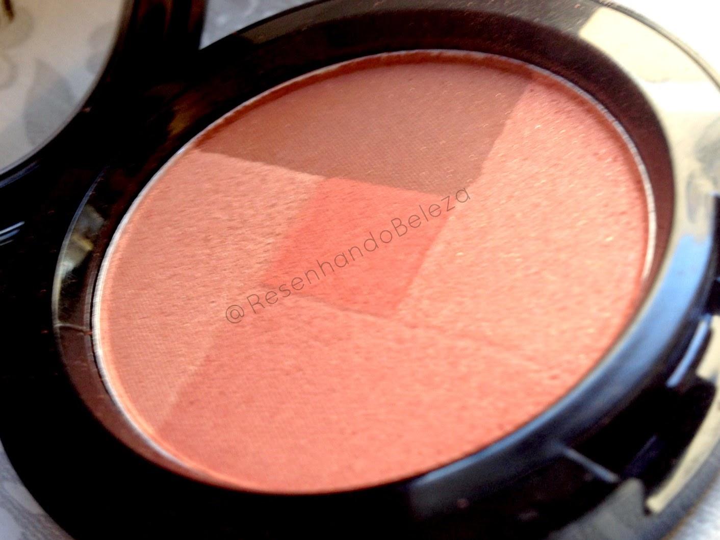blush laranja da nyx