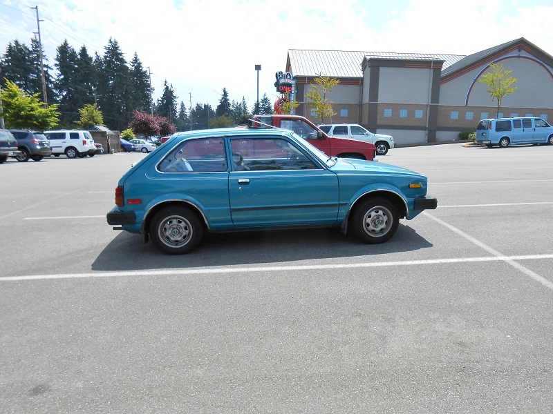Seattle's Parked Cars: 1980 Honda Civic 1500GL