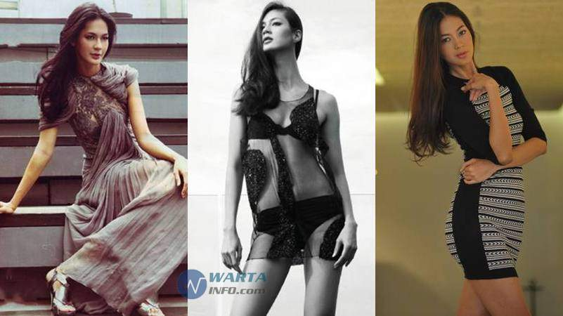 Foto hot Paula Verhoeven Supermodel cantik terseksi paling terkenal di Indonesia