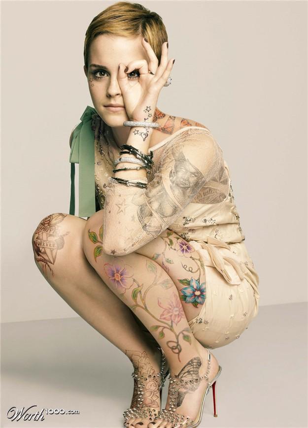 Onfolip Emma Watson Tattoo Images 2012