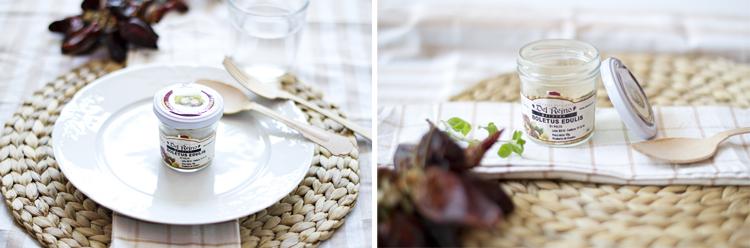 torcetti+boletus Torcetti con salsa picante de champiñones y parmesano