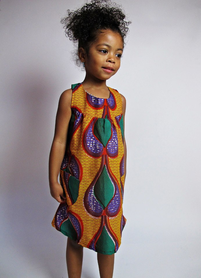 kitenge dress for your baby