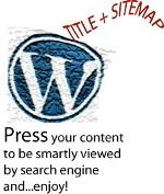 Wordpress sitemap-title