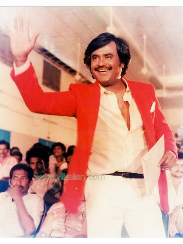 Rajinikanth in 'Padikkathavan' (1985) Tamil Movie