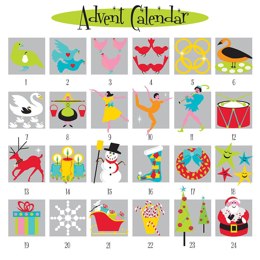 Religious Advent Calendar Ideas : Names of jesus advent calendar u sweet honeycomb
