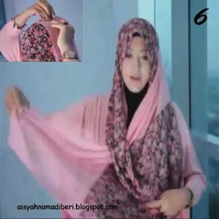 Cara Memakai Jilbab Kreasi Jilbab Pashmina Modis Dan Simple