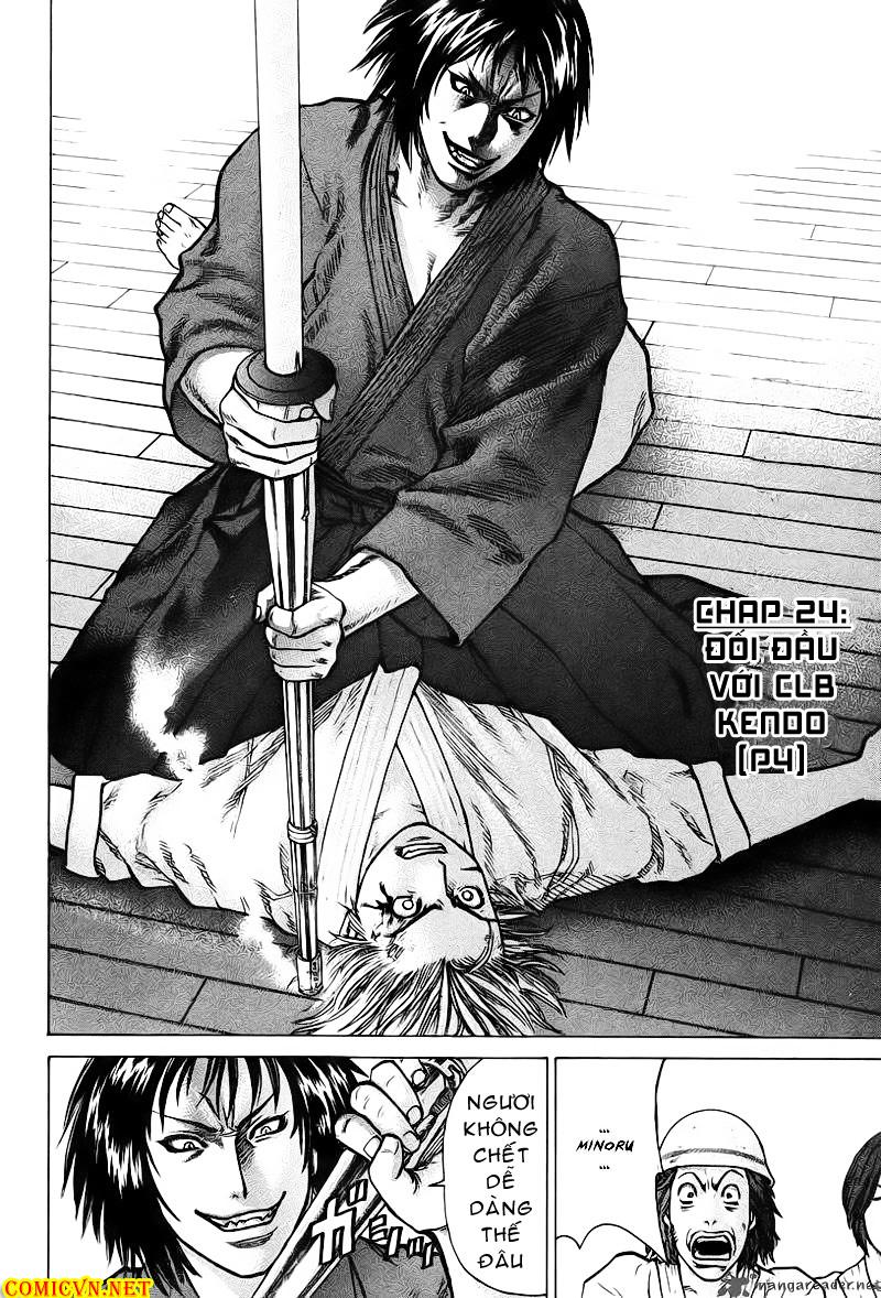 Karate Shoukoushi Kohinata Minoru chap 25 Trang 4
