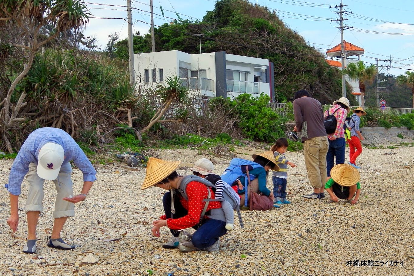 体験/観光 沖縄家族旅行 シーサー作り 子ども 大人