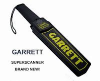 Jual Garret Karawang - Jual Super Scanner Karawang - Hand Metal Detector Karawang