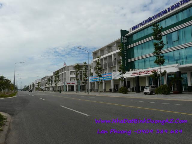 nhà phố liên kế thương mại tp mới bd, nha pho lien ke thuong mai tp moi bd