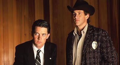 """Cooper y Truman en un fotograma de """"Twin Peaks"""" (1990)"""